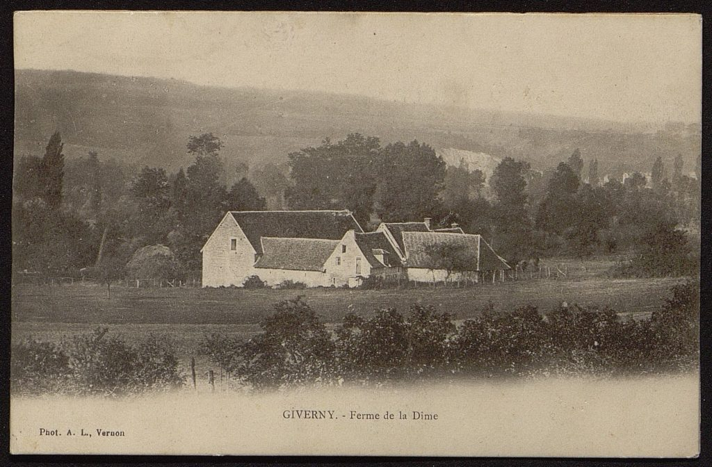 Ancient photo of Giverny