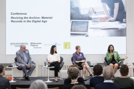 WPI's Symposium 'Reviving the Archive' at the Museum Barberini